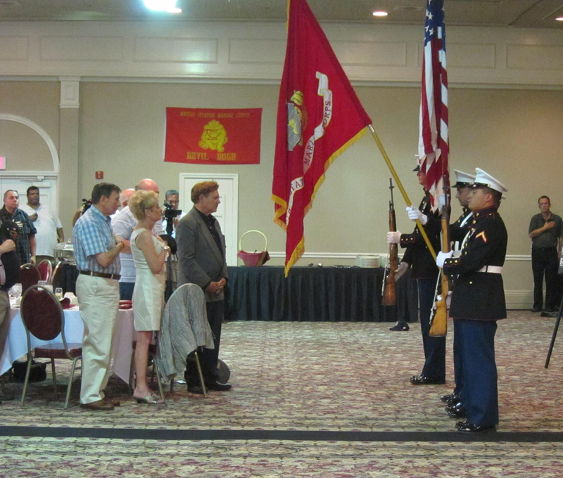 Presentation of Colors & Pledge of Allegiance